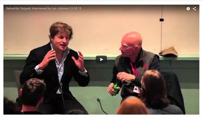 Sebastião Salgado interviewed by Leo Johnson, 23.5.15