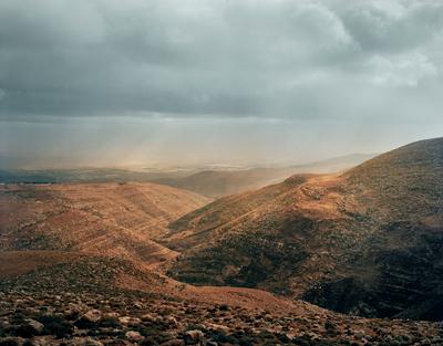 Towards the Jordan Valley, from the Judean Hills, West Bank © James Morris